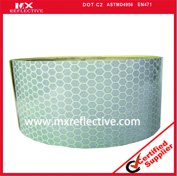 1100 White high intensive reflective tape