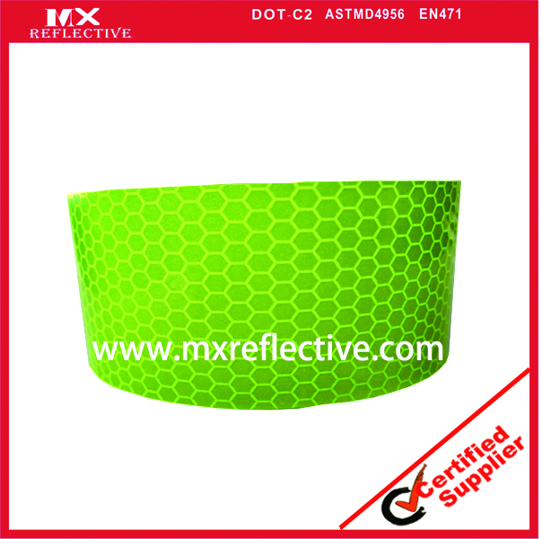 1109 Yellow green high  intensive reflective tape