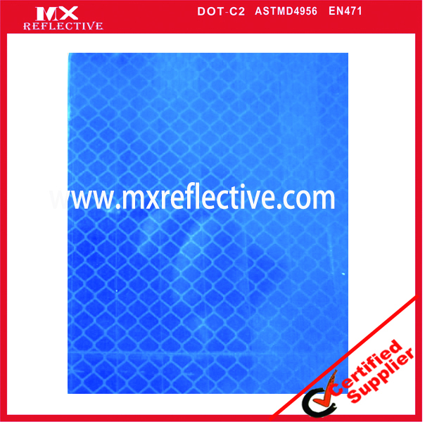 3934 acrylic prismatic blue  reflective tape