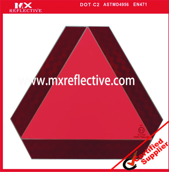 triangle Truck reflective board